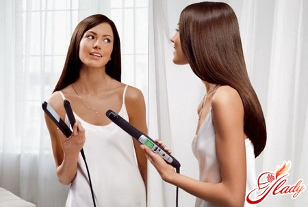 how to put hair ironing