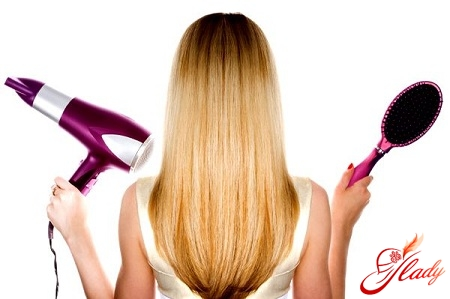 hair styling at home
