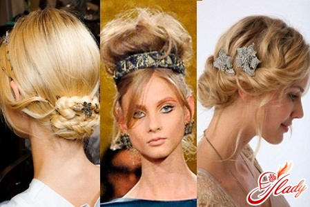 holiday hairstyles with decorations