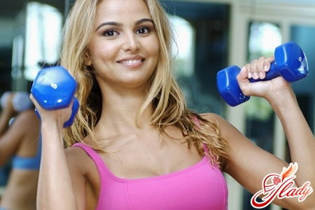 exercises for breasts with dumbbells