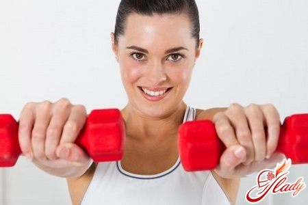 exercises with dumbbells for breasts