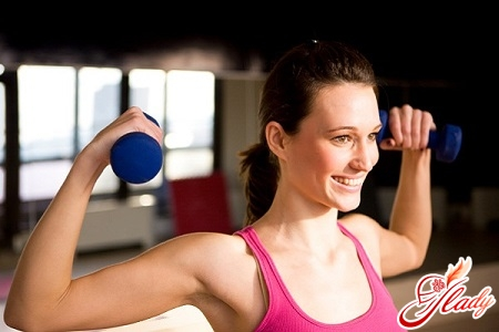 exercises with dumbbells on the chest