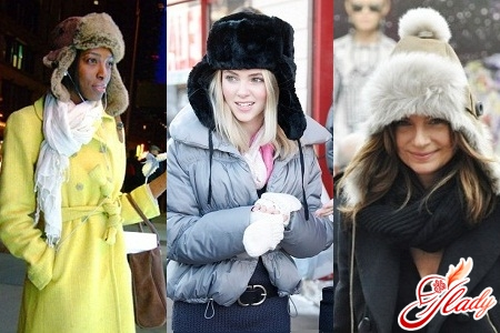 how to wear a hat with a fur hat