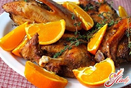 delicious duck with mandarins recipe
