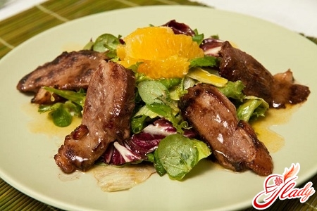 juicy duck with mandarins recipe