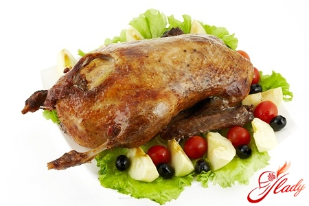 duck with apples and oranges recipe
