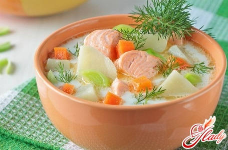 simple recipe for soup from salmon