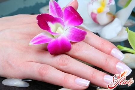 hand nail care