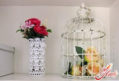 ваза з банок своїми руками