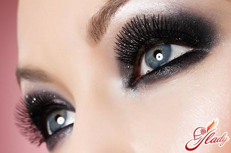 evening makeup eyes