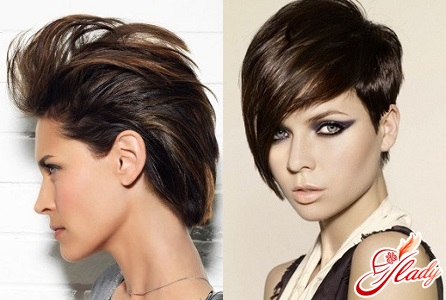 evening styling for short hair