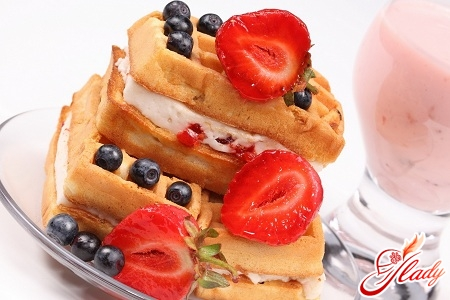 Viennese waffles recipe