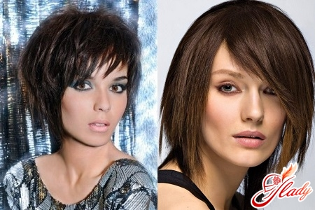types of bangs with long hair
