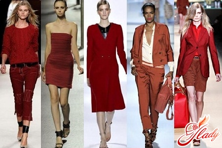 fashionable wine colors clothing 2016