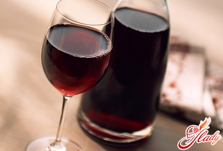 homemade wine from jam