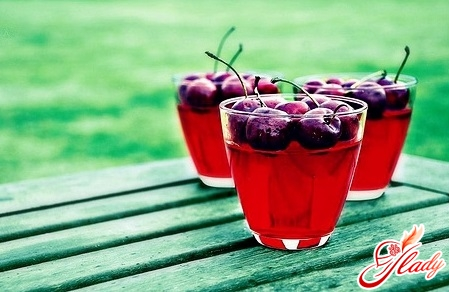 cherry kissel recipe