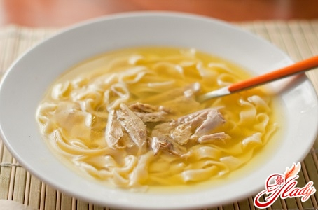 recipe for chicken soup with homemade noodles
