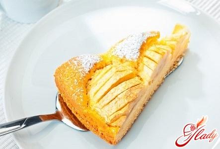 простий рецепт пирога з яблуками і бананами