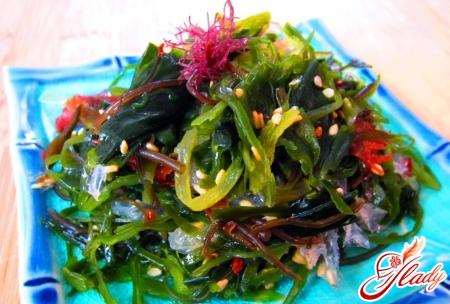 salad of sea kale