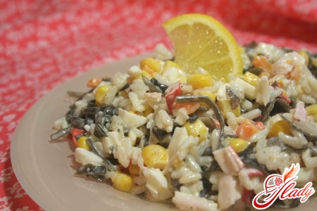 salad of sea kale with egg recipe