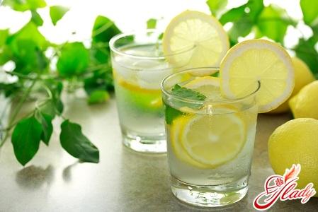 вода з лимоном користь