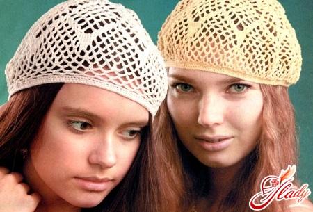crochet berets