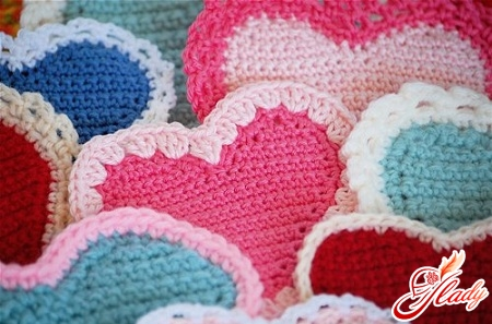 valentines knitted