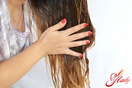 hair treatment with essential oils