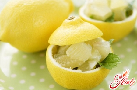 horseradish with lemon
