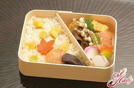 Japanese diet menu