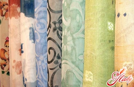 choice of fabric for curtains