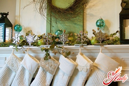 New Year's ideas for decorating a house