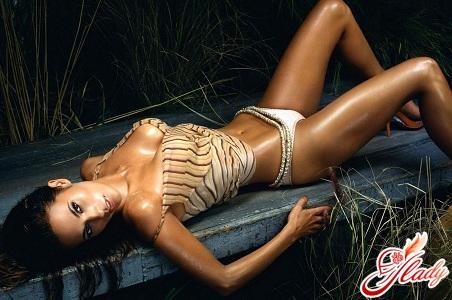 beautiful tan in a solarium