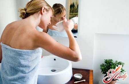 treatment of odor from the nose by washing with herbal solution