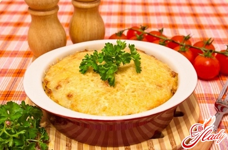 casserole from mashed potatoes