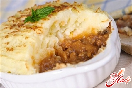 casseroles from mashed potatoes