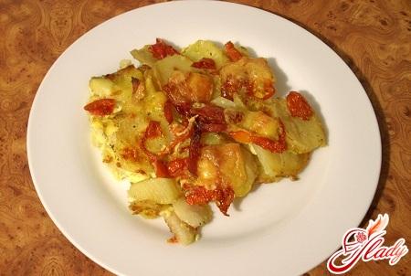 potato casserole with sausage