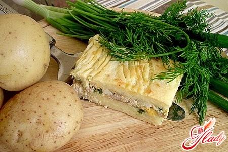 рецепт картопляної запіканки з куркою