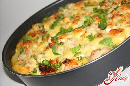 casserole with chicken