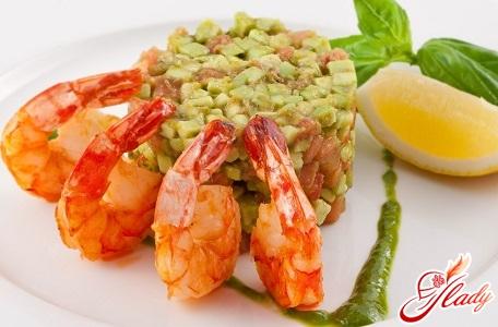 shrimp fried in sauce