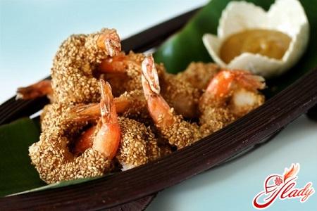 fried shrimp in soy sauce