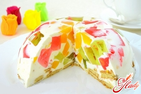 recipe jelly cake mosaic