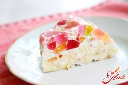 jelly cake mosaic