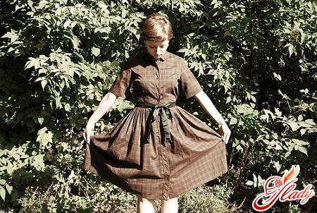сорочка в клітку жіноча