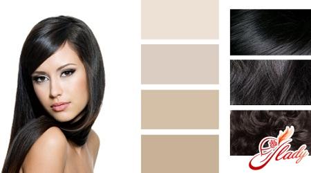 в який колір пофарбувати темне волосся