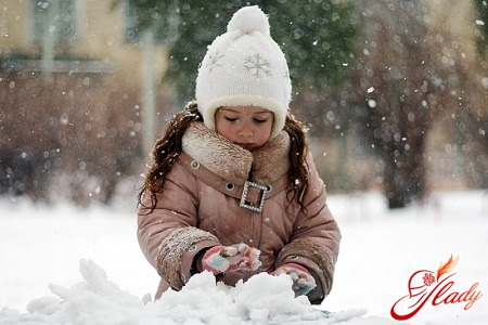 Winter clothes for children