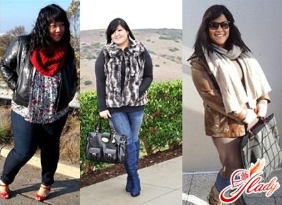 зимовий одяг з Європи для повних жінок