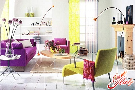 colors in the interior of the feng shui